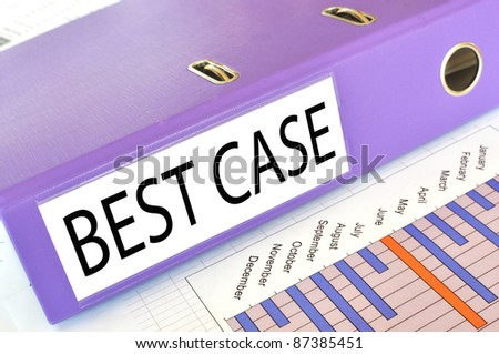 BEST CASE  folder on a market report