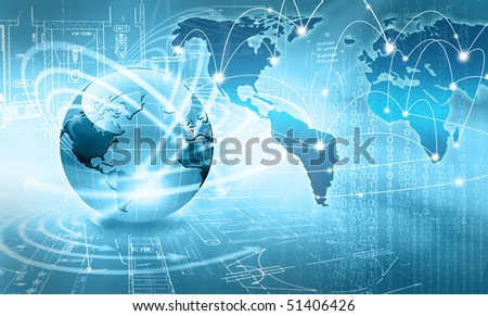 best concept of global business - stock photo