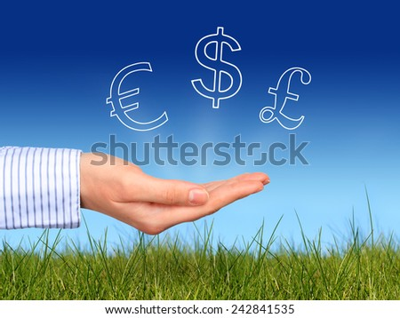 Best currencies to invest - stock photo