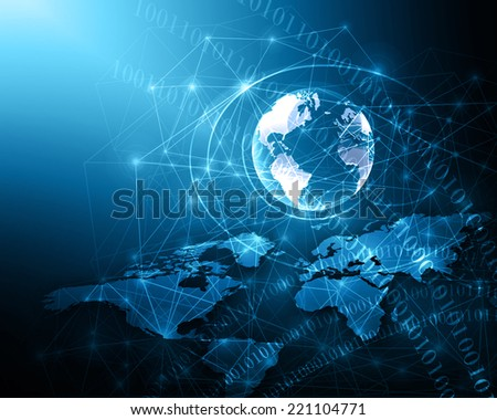 Best Internet Concept of global business from concepts  - stock photo