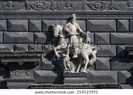 Best places of Lviv city - stock photo