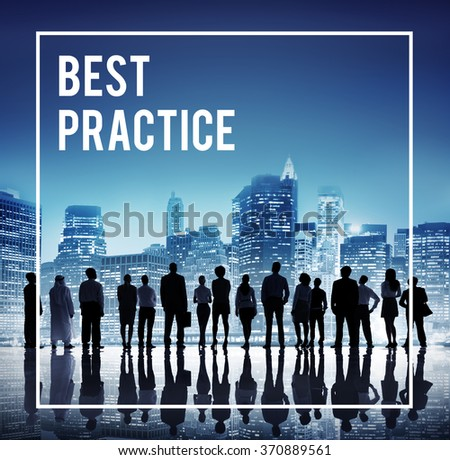 Best Practice Training Rehearsal Implementation Concept - stock photo