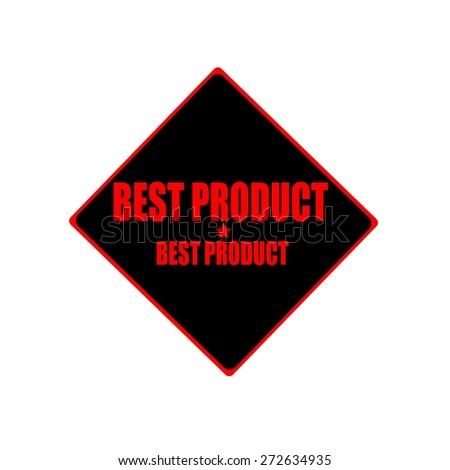 best product red stamp text on black background - stock photo
