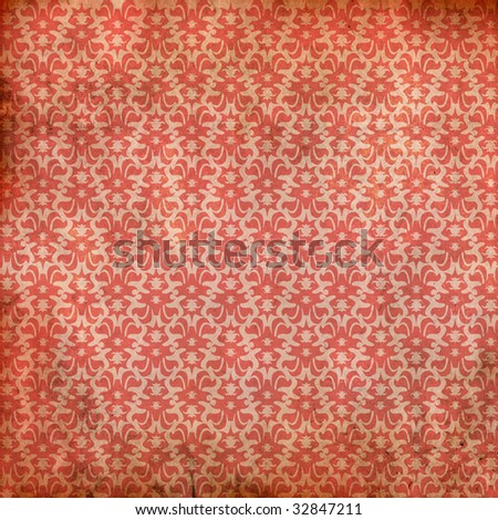best red pattern - stock photo