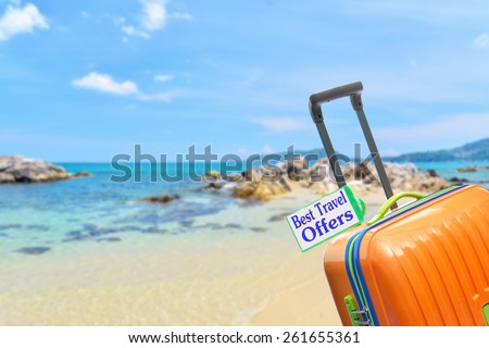 Best Travel Offers - stock photo