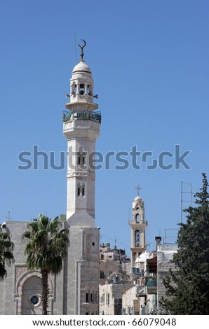 Bethlehem, Palestine, Israel - stock photo