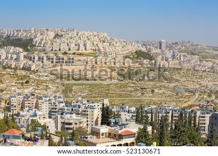 Bethlehem - The new settlements