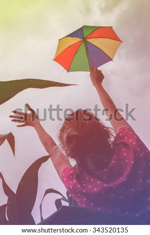 Better times/weather for gay people? - stock photo