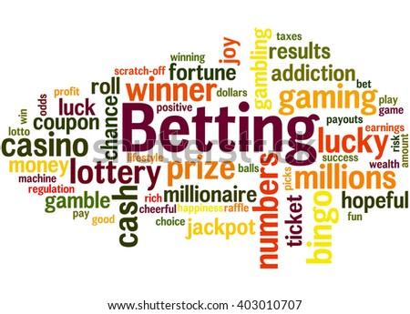 Another word for bet or gamble vfw marietta ohio poker run