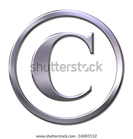 bevel copyright sign