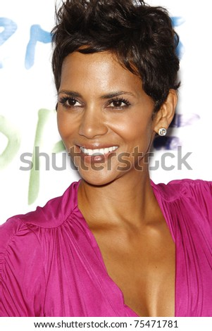 BEVERLY HILLS - APR 17: Halle Berry at the Silver Rose Awards Gala held at the Beverly Hills Hotel, Beverly Hills, California on April 17, 2011. - stock photo