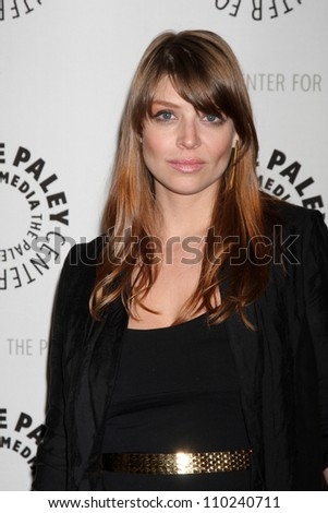 "BEVERLY HILLS - AUG 13:  Amber Benson arrives at the ""Husbands"" Season Two Premiere Panel at Paley Center for Media on August 13, 2012 in Beverly Hills, CA"
