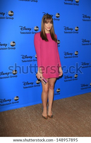 BEVERLY HILLS - AUG 4: Christa B Allen at the 2013 Television Critics Association's Summer Press Tour - Disney/ABC Party at The Beverly Hilton Hotel on August 4, 2013 in Beverly Hills, California
