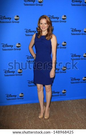 BEVERLY HILLS - AUG 4: Sarah Drew at the 2013 Television Critics Association's Summer Press Tour - Disney/ABC Party at The Beverly Hilton Hotel on August 4, 2013 in Beverly Hills, California