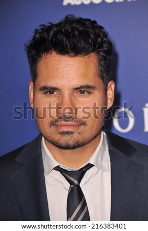 BEVERLY HILLS, CA - AUGUST 14, 2014: Actor Michael Pena at the Hollywood Foreign Press Association's annual Grants Banquet at the Beverly Hilton Hotel.  - stock photo