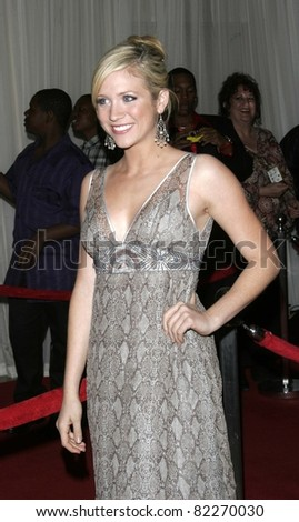 BEVERLY HILLS, CA - DEC 1: Brittany Snow at the 6th annual Family Television Awards at the Beverly Hilton Hotel on December 1, 2004 in Los Angeles, California - stock photo