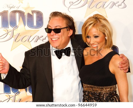 BEVERLY HILLS, CA - FEB. 26: Actor Bill Zucker and Carley Corbin arrives for Norby Walters' 22nd Annual Night Of 100 Stars event held at The Beverly Hills Hotel on Feb. 26, 2012 in Beverly Hills, CA. - stock photo
