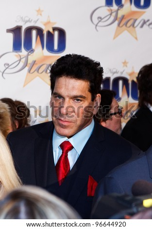 BEVERLY HILLS, CA - FEBRUARY 26: Actor Lou Ferrigno arrives for Norby Walters' 22nd Annual Night Of 100 Stars event held at The Beverly Hills Hotel on February 26, 2012 in Beverly Hills, California. - stock photo