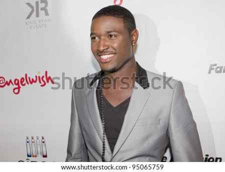 BEVERLY HILLS, CA - FEBRUARY 12: JC Jones at the Grammy after party at the Playboy Mansion on February 12, 2012 in Beverly Hills, California. (Photo by Jonathan S. Nowak) - stock photo