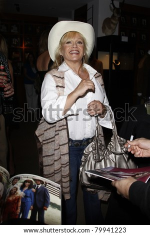 BEVERLY HILLS, CA - JUN 01: Charlene Tilton at the opening party of the Larry Hagman Collection at Julian's Auction House on June 1, 2011 in Beverly Hills, California