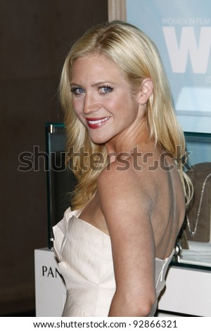 BEVERLY HILLS, CA - JUNE 16: Brittany Snow at the 2011 Women In Film Crystal + Lucy Awards at the Beverly Hilton Hotel in Beverly Hills, California on June 16, 2011. - stock photo