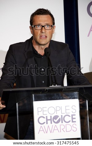 BEVERLY HILLS, CA - NOVEMBER 15, 2012: Jason O'Mara at the People's Choice Awards 2013 Nominations held at the Paley Center in Beverly Hills, USA on November 15, 2012. - stock photo