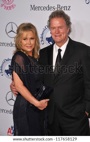 BEVERLY HILLS, CA - OCTOBER 20, 2012: Kathy Hilton & Rick Hilton at the 26th Carousel of Hope Gala at the Beverly Hilton Hotel.