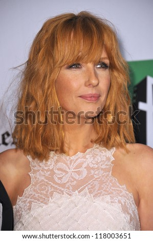 BEVERLY HILLS, CA - OCTOBER 22, 2012: Kelly Reilly at the 16th Annual Hollywood Film Awards at the Beverly Hilton Hotel.