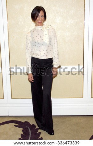 BEVERLY HILLS, CALIFORNIA - May 1, 2012. Annabeth Gish at the Feminist Majority Foundation event held at the Beverly Hills Hotel, Los Angeles.   - stock photo