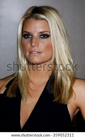BEVERLY HILLS, CALIFORNIA - October 2, 2009. Jessica Simpson at the Operation Smile's 8th Annual Smile Gala held at the Beverly Hilton Hotel, Beverly Hills, Los Angeles.   - stock photo