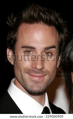 "BEVERLY HILLS, CALIFORNIA. October 10, 2006. Joseph Fiennes at the World Premiere of ""Running with Scissors"" held at the Academy of Motion Picture Arts and Sciences in Beverly Hills, USA. - stock photo"