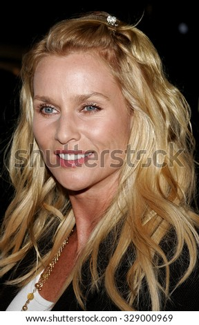"BEVERLY HILLS, CALIFORNIA. October 10, 2006. Nicolette Sheridan at the World Premiere of ""Running with Scissors"" held at the Academy of Motion Picture Arts and Sciences in Beverly Hills, USA."