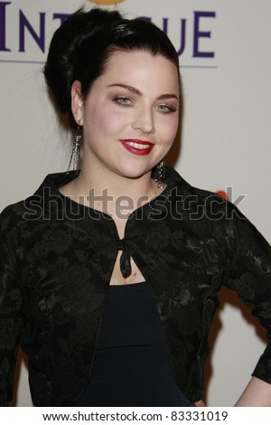 BEVERLY HILLS - FEB 9: Amy Lee at the Clive Davis Pre-GRAMMY Party 2008 held at the Beverly Hilton Hotel in Beverly Hills, California on February 9, 2008 - stock photo