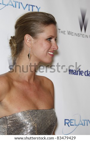 BEVERLY HILLS - JAN 16: Nicky Hilton at The Weinstein Company And Relativity Media's 2011 Golden Globe Awards Party in Beverly Hills, California on January 16, 2011 - stock photo