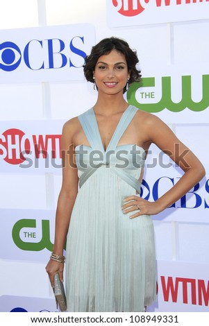 BEVERLY HILLS - JUL 29: Morena Baccarin at the 2012 TCA CBS, Showtime and The CW Summer Press Tour party on July 29, 2012 in Beverly Hills, California - stock photo