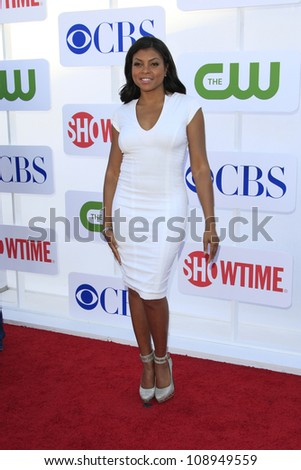 BEVERLY HILLS - JUL 29: Taraji Henson at the 2012 TCA CBS, Showtime and The CW Summer Press Tour party on July 29, 2012 in Beverly Hills, California