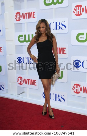 BEVERLY HILLS - JUL 29: Tyra Banks at the 2012 TCA CBS, Showtime and The CW Summer Press Tour party on July 29, 2012 in Beverly Hills, California