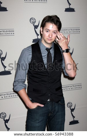 BEVERLY HILLS - JUN 24:  Bradford Anderson arrives at the TV Academy's reception  Daytime Emmy Awards Nominees SLS Hotel At Beverly Hills on June 24, 2010 in Beverly Hills, CA - stock photo