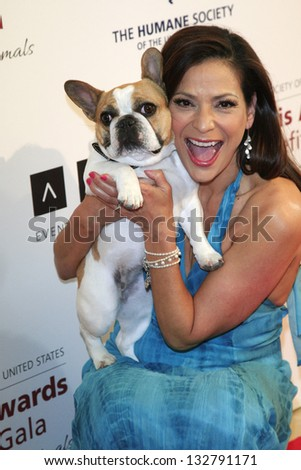 Beverly Hills Mar 23 Constance Marie Stock Photo 132791171 ...