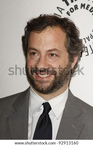 BEVERLY HILLS - MAR 12:  Judd Apatow arriving at the Paleyfest 2011 event honoring Freaks and Geeks/Undeclared in Beverly Hills, California on March 12, 2011. - stock photo