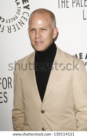 BEVERLY HILLS - MAR 16:  Ryan Murphy arriving at the 2011 PaleyFest honoring 'Glee' held at the Saban Theater in Beverly Hills on March 16, 2010. - stock photo