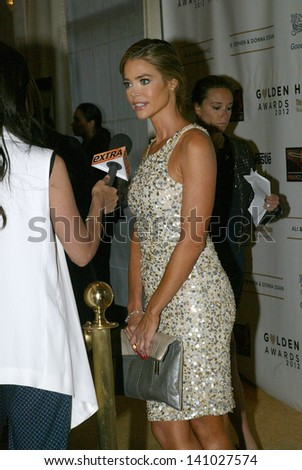 BEVERLY HILLS - MAY 7: Denise Richards arrives at The 12th Annual Golden Hearts Awards presented by The Midnight Mission on Monday, May 7, 2012 at the Beverly Wilshire Hotel in Beverly Hills, CA.