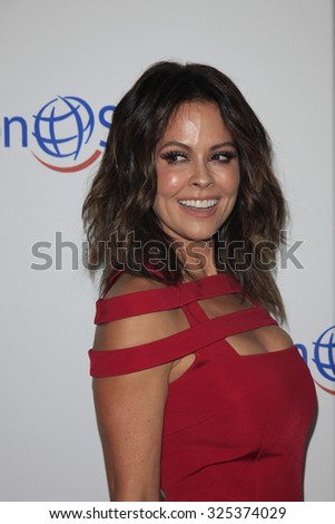 BEVERLY HILLS - OCT 2: Brooke Burke at the Operation Smile's 2015 Smile Gala  on October 2, 2015 at the Beverly Wilshire Four Seasons Hotel in Beverly Hills, CA. - stock photo