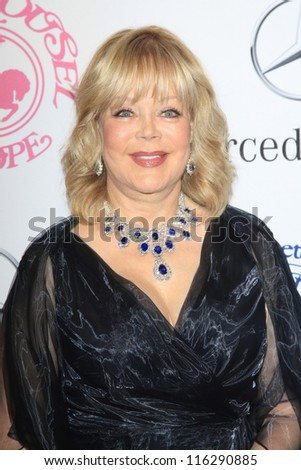 BEVERLY HILLS - OCT 20: Candy Spelling at the 26th Carousel Of Hope Ball at The Beverly Hilton Hotel on October 20, 2012 in Beverly Hills, California - stock photo