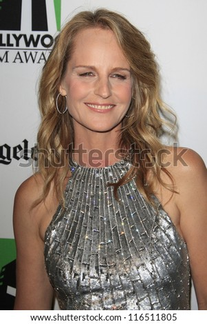 BEVERLY HILLS - OCT 22: Helen Hunt at the 16th Annual Hollywood Film Awards Gala at The Beverly Hilton Hotel on October 22, 2012 in Beverly Hills, California - stock photo