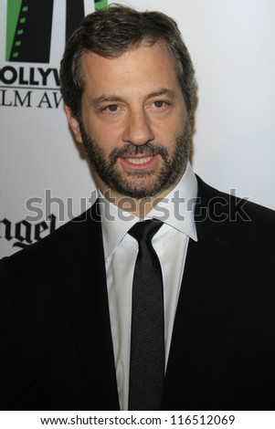 BEVERLY HILLS - OCT 22: Judd Apatow at the 16th Annual Hollywood Film Awards Gala at The Beverly Hilton Hotel on October 22, 2012 in Beverly Hills, California - stock photo