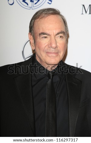 BEVERLY HILLS - OCT 20:  Neil Diamond at the 26th Carousel Of Hope Ball at The Beverly Hilton Hotel on October 20, 2012 in Beverly Hills, California