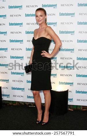 BEVERLY HILLS - SEP 20: Emily VanCamp at the 6th Annual Entertainment Weekly Pre-EMMY party  on September 20, 2008 in Beverly Hills, California - stock photo