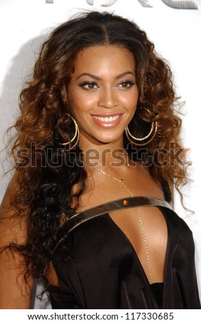 Beyonce Knowles at the 2007 Sports Illustrated Swimsuit Issue Party. Pacific Design Center, West Hollywood, CA. 02-14-07 - stock photo