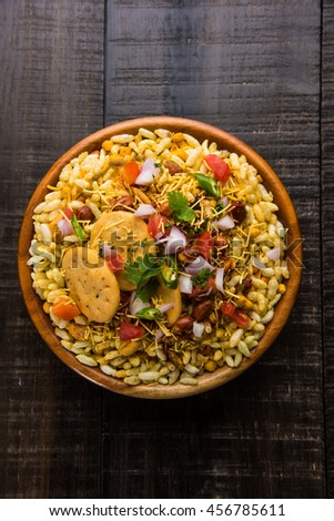 Bhel or Bhelpuri, Chat item, India